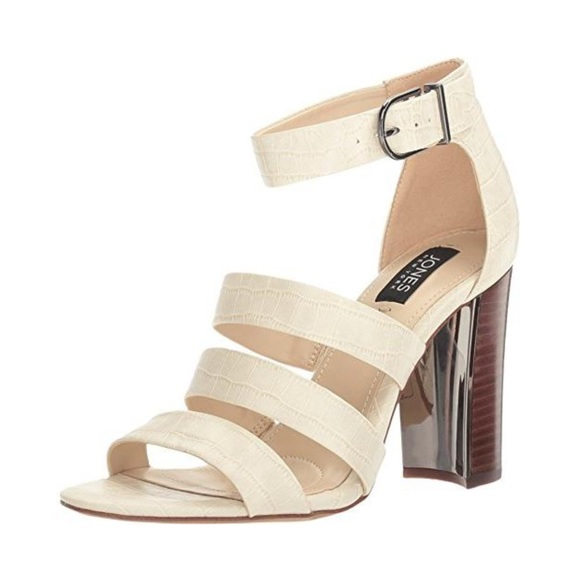 Jesse Strappy Embossed Sandals